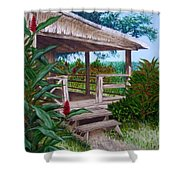 The Lanai Shower Curtain