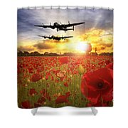 The Lancasters Shower Curtain