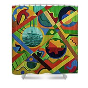 The Land Cruise Shower Curtain