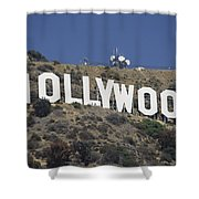 The Landmark Hollywood Sign Shower Curtain