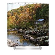 The Landscape By Klepzig Mill Shower Curtain