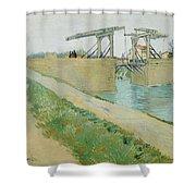 The Langlois Bridge Shower Curtain