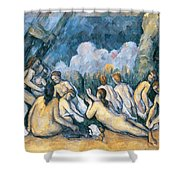 The Large Bathers Shower Curtain