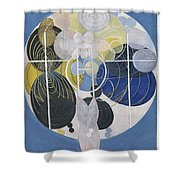 The Large Figure Paintings  No  5 Group 3  Hilma Af Klint 1907 Shower Curtain