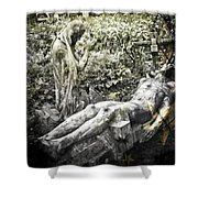 The Last Breath Shower Curtain