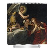 The Last Communion Of The Magdalene Shower Curtain