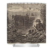 The Last Days Of Harvest Shower Curtain