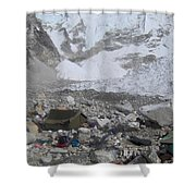 The Last Expedition  Shower Curtain