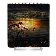 The Last Fairy Tale Shower Curtain
