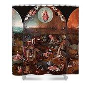 The Last Judgement Hieronymus Bosch Shower Curtain