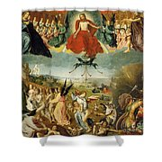 The Last Judgement Shower Curtain by Jan II Provost