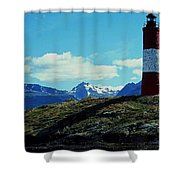 The Last Lighthouse ... Shower Curtain