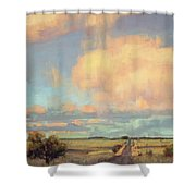 The Last Mile Shower Curtain