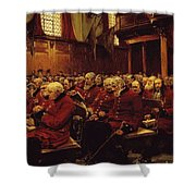 The Last Muster Shower Curtain