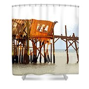 The Last Of Old Cedar Key Shower Curtain