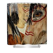 The Last Ride Shower Curtain
