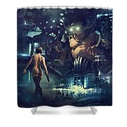 The Last Smile Shower Curtain