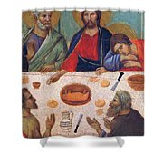 The Last Supper Fragment 1311 Shower Curtain