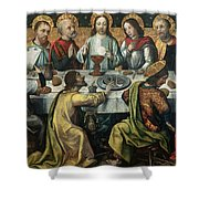 The Last Supper Shower Curtain by Godefroy