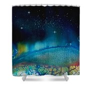 The Last Turtle From The Sea Of Cassiopeia Shower Curtain