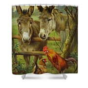 The Latest Arrivals Shower Curtain