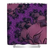 The Lavender Forest 2 Shower Curtain