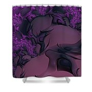 The Lavender Forest 3 Shower Curtain