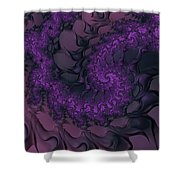 The Lavender Forest 4 Shower Curtain