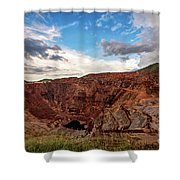 The Lavender Pit Shower Curtain