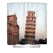 The Leaning Tower Of Pisa Shower Curtain