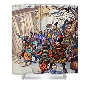 The Legend Of The Forty-seven Ronin Shower Curtain