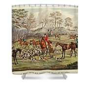 The Life Of A Sportsman Shower Curtain