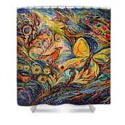 The Life Of Butterfly Shower Curtain