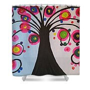 The Life Of Tree Shower Curtain