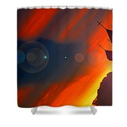 The Light Calling Shower Curtain