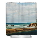 The Light House Shower Curtain