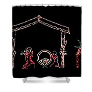 The Light Of Christmas Shower Curtain