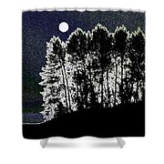 The Light Of The Moon Shower Curtain