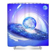 The Light Of The World Shower Curtain