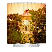 The Light Tower Shower Curtain
