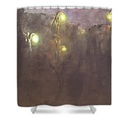 The Light Tree Series Into The Void II Shower Curtain
