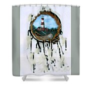 The Assateague Lighthouse Shower Curtain
