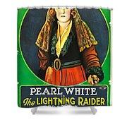 The Lightning Raider Shower Curtain