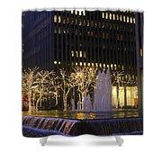 New York City Lights Shower Curtain