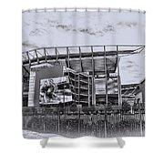The Linc - Philadelphia Eagles Shower Curtain