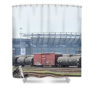 The Linc From The Other Side Of The Tracks Shower Curtain