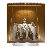 The Lincoln Memorial 1 Shower Curtain