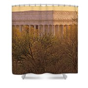 The Lincoln Memorial, Seen Shower Curtain