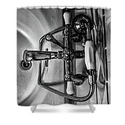 The Line Shower Curtain