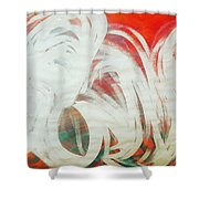 The Lion And The Swan  Shower Curtain